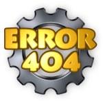 Error 404 — Stock Photo #65981735