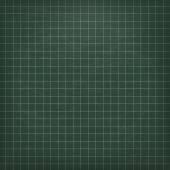 Empty Green School Blackboard — Stock Vector