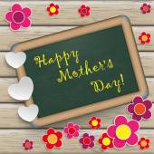 Tablica z westchnieniem dzień matki — Wektor stockowy