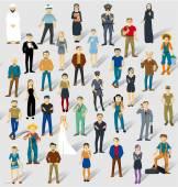 Human infographics.Vector — Stock Vector