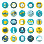 Vector design element and icon set. — Vector de stock