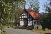 Gellenbeck mill in Hagen, Lower Saxony, Germany, Europe — Stock Photo
