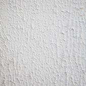 Close up Textured White Wall with Copy Space — Stock Photo