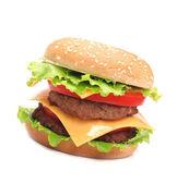 Fresh hamburger — Stock Photo