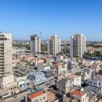 Kiryat Gat skyline view. — Stock Photo #52895353
