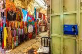 Market in Old City of Jerusalem, Israel. — Stock Photo