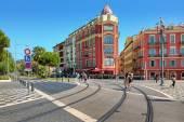 Place Massena. Nice, France. — 图库照片
