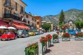 Street view of small french village of Tende. — Stock Photo