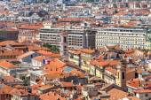 View from above on Nice, France. — Stock Photo