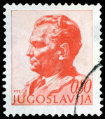 Vintage postage stamp. Marshal Tito. — Stock Photo