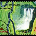 Постер, плакат: Vintage postage stamp Animals Burundi Nil Blanc