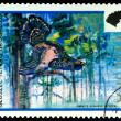 Vintage  postage stamp. Capercaillie. — Stock Photo #62416095