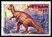 Vintage  postage stamp. Corythosaurus. — Stock Photo