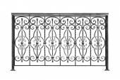 Decorative banisters, fence. — Stock Photo