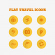 Flat icons collection. Vector illustration — Stock Vector #58303817