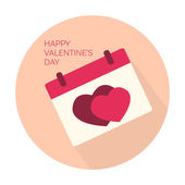 Happy Valentines day collection icon — Stock Vector