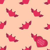 Happy Valentines day collection background — Stock Vector