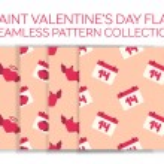 Valentine day flat icon set — Stock Vector #63800093