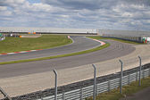 Empty motorsport racetrack — Stock Photo