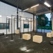 Interior Of Cross Fitness Box — Stock Photo #55488955