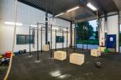 Interior Of Cross Fitness Box — Stock Photo