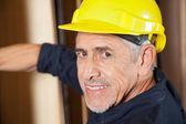 Portrait Of Senior Carpenter Smiling — Stock Photo