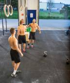 Athletes At Cross Training Gym — ストック写真