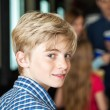 Portrait Of Cute Boy At Cinema — Stock Photo #74976511