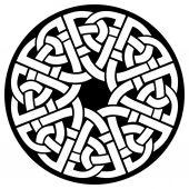 Celtes cadre cercle — Vecteur