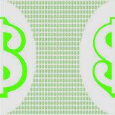 Dollar background — Stock Photo