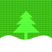 Background of Christmas trees — Stock Photo