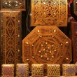 Wooden boxes eastern bazaar — Stock Photo #68964227