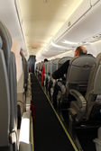 Aircraft interior — Stock Photo