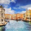 The Grand Canal, Venice, as seen from Rialto Bridge — Foto Stock #60893589