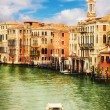 The Grand Canal, Venice, as seen from Rialto Bridge — Foto Stock #60893595
