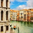 The Grand Canal, Venice, as seen from Rialto Bridge — Foto Stock #60893599