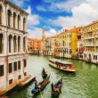 The Grand Canal, Venice, as seen from Rialto Bridge — Foto Stock #60893601