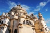 Santa Maria della Salute church, Venice, italy — Stock Photo