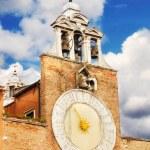 Detail of San Giacomo di Rialto church, Venice, Italy — Stock Photo #62670381