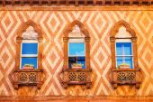 Details of windows, Venice, Italy — Stock Photo