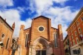 Dominican church of Sant'Anastasia in Verona, Italy — Foto de Stock