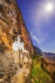 Ostrog monastery in Montenegro - St. Vasilije Ostroski (upper church) — Stock Photo