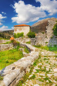 The ruins of Old Town Bar, Montenegro — Stock Photo