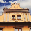 Facade details of architecture in Prague — Stock Photo #75799691