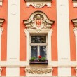 Facade details of architecture in Prague — Stock Photo #75799713