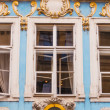 Facade details of architecture in Prague — Stock Photo #75799743