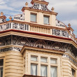 Facade details of architecture in Prague — Stock Photo #75799901
