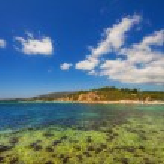 Part of Laganas beach, Zakynthos island, Greece — Stock Photo #78695550