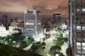 Sao Paulo city, Brazil — Stock Photo