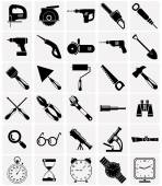 Icons of tools and devices — Stock Vector